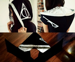 deathly hallows, etsy, and harry potter image