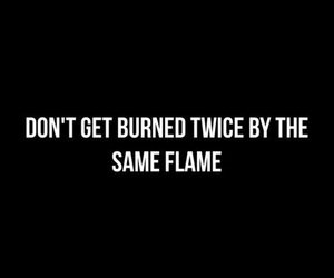 flame, quote, and spruch image