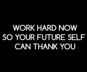 future, hard, and quote image