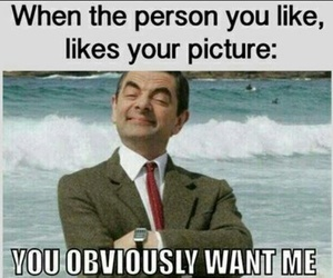 funny, mr bean, and like image