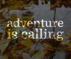 call, font, and nature image