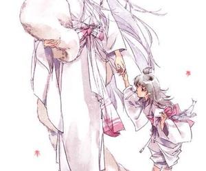 anime, inuyasha, and rin image
