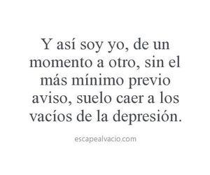 depression, frases, and frases en español image