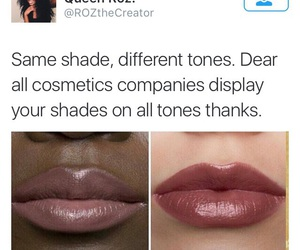 lipstick, make up, and twitter image