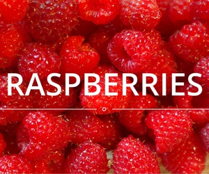 fruit and raspberries image