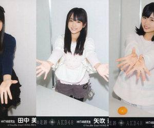 hkt48, tanaka miku, and yabuki nako image