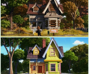 house, cartoon, and film image
