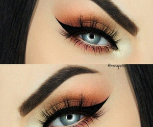 makeup, eyeshadow, and gorgeous image