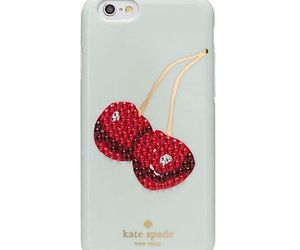 cherries, glam, and iphone image