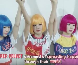 kpop, red velvet, and aesthetic image