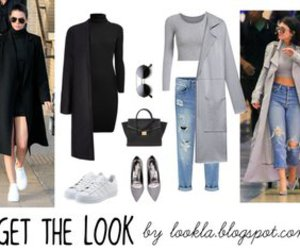 fashion, get the look, and Kendall image