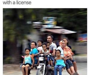 funny, friends, and license image