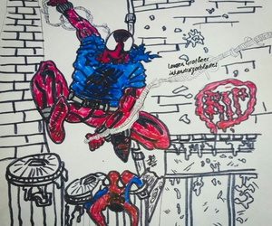 art, draw, and webs image