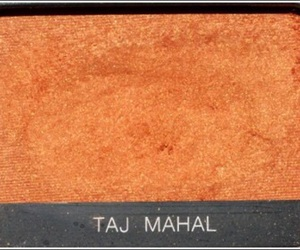 orange, theme, and eyeshadow image