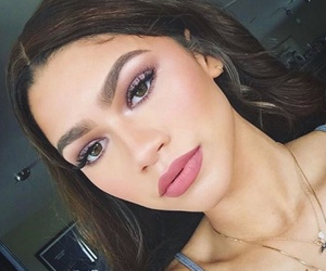 zendaya, makeup, and hair image