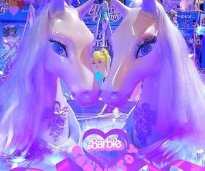 kawaii, purple, and unicorn image
