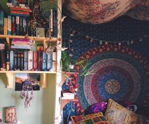 room, hippie, and boho image