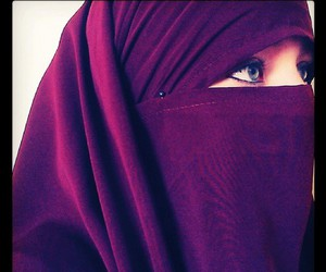 islam, beauty, and hijab image