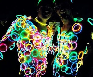 party, boys, and light image