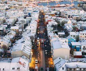 beautiful, city, and iceland image