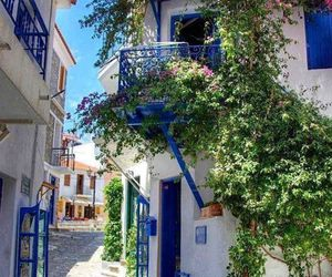 Greece, flowers, and travel image