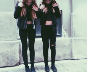 black, friends, and grunge image