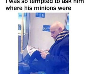 minions, funny, and GRU image