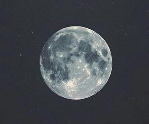 moon, beautiful, and dark image