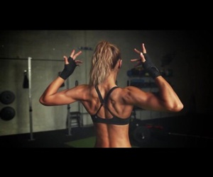 arms, goals, and fitness image