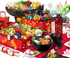 anime, chibi, and colorful image
