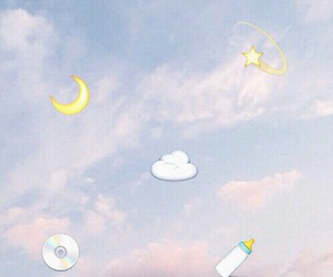 sky, pastel, and aesthetic image
