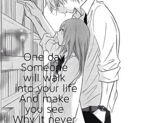 anime, fact, and love quotes image