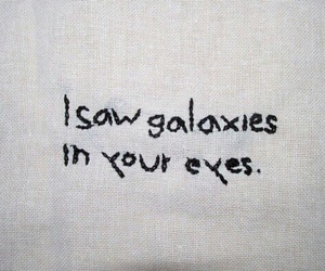 eyes, galaxy, and me image
