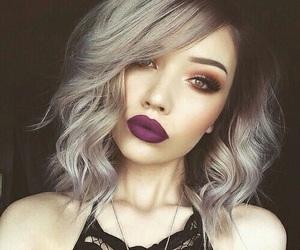 glamorous, hair, and makeup image