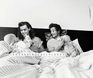 larry stylinson, louis tomlinson, and larrystylinson image