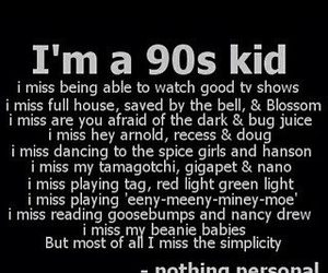 90s, 90's kid, and quote image