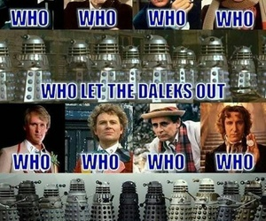 Dalek, doctor who, and doctorwho image
