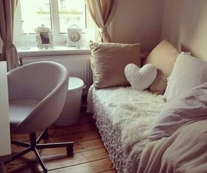 dorm room, white, and room ideas image
