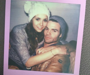 friend, Nina Dobrev, and photo image