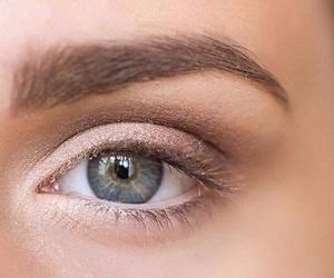 eye, eye shadows, and make up image