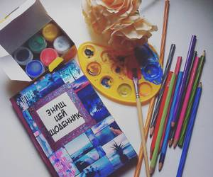art, color, and journal image