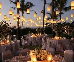 wedding, light, and romantic image