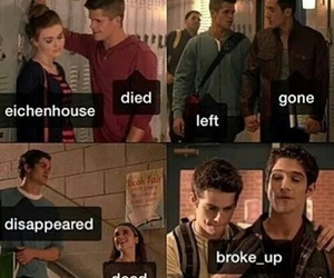 teen wolf, danny, and allison argent image