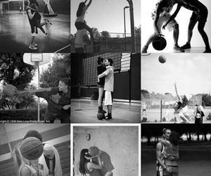 Basketball, love, and couple image