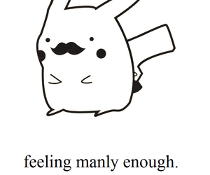 pikachu, quotes, and cute image