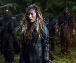 the 100, anya, and dichen lachman image