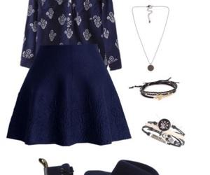 blue, bracelets, and hat image