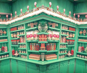candy shop, desserts, and harry potter image