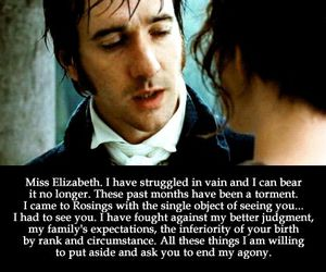 love, pride and prejudice, and Elizabeth image