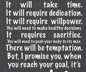 decisions, goal, and dedication image